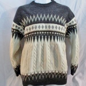 STEFANEL ITALY Winter Holiday Christmas Sweater